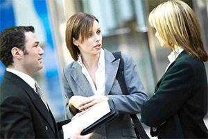 Услуги переводчика на переговорах